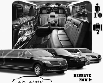 Albuquerque Town Car Stretch Limo for rental