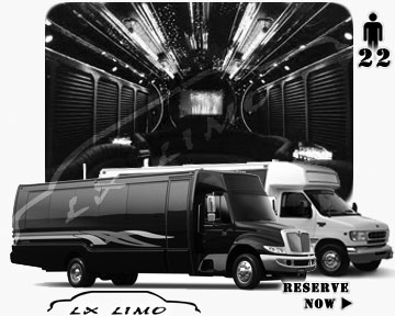 Party Limo Bus rental in Albuquerque | Albuquerque LIMOBUS 22 passengers
