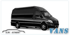 Albuquerque Luxury Van service