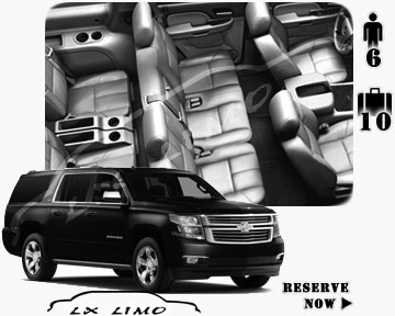 SUV Suburban for hire in Albuquerque