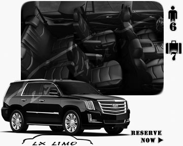 SUV Escalade for hire in Albuquerque NM