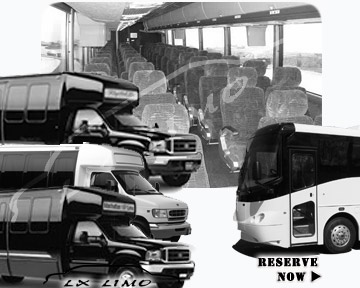 Albuquerque Bus rental 36 passenger